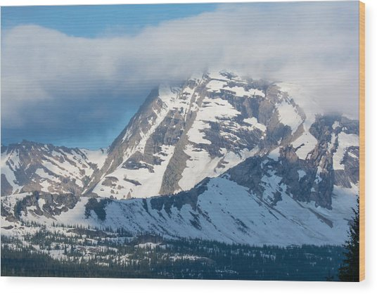 Gnp Heaven's Peak Wood Print