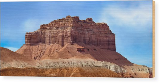 Goblin Valley Pano 2 Wood Print