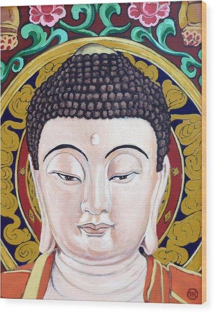 Goddess Tara Wood Print