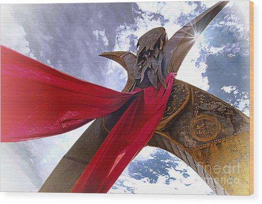 Godess Wood Print by David Taylor