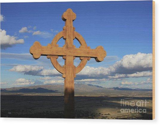 God's View Wood Print