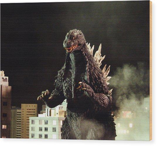Godzilla, King Of The Monsters!  Wood Print