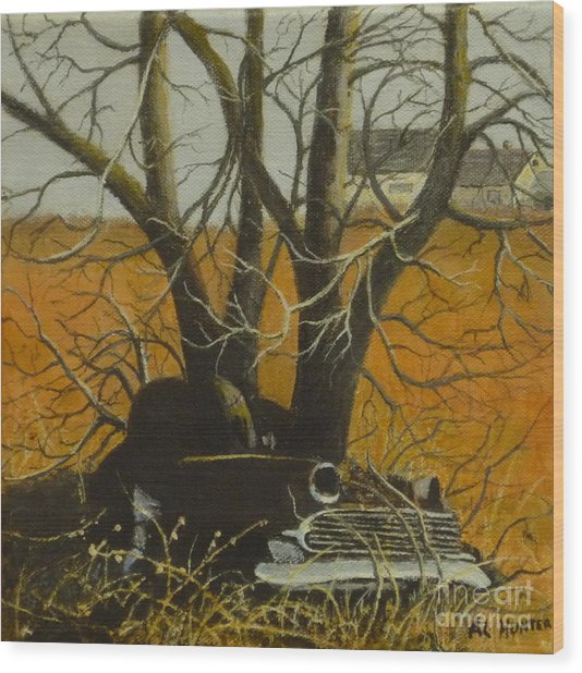Going Nowhere Wood Print
