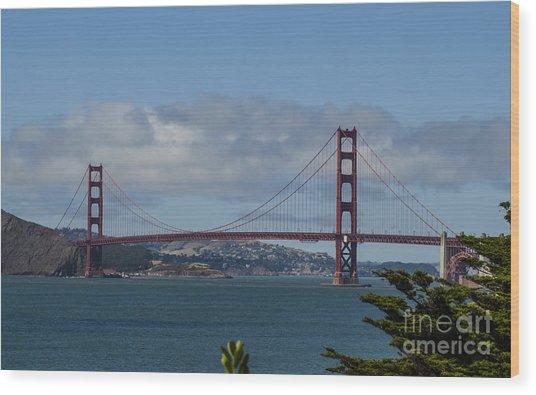 Golden Gate Bridge 2 Wood Print