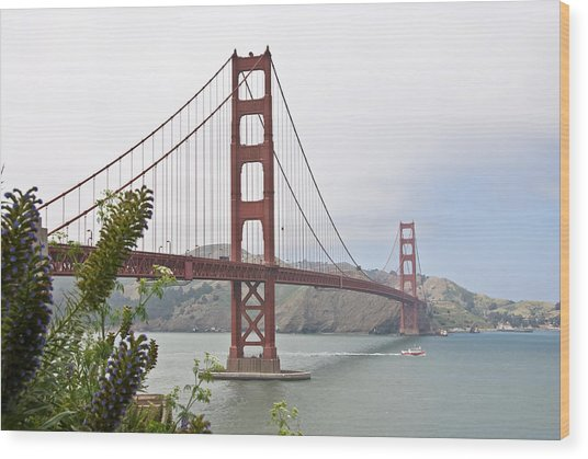 Golden Gate Bridge 3 Wood Print