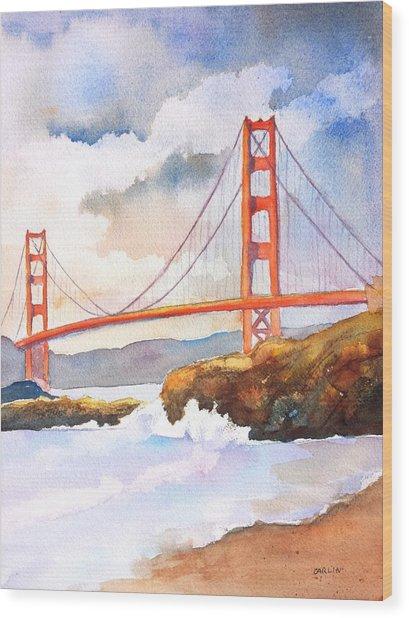 Golden Gate Bridge 4 Wood Print