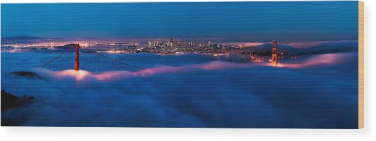 Golden Gate Bridge, San Francisco Wood Print