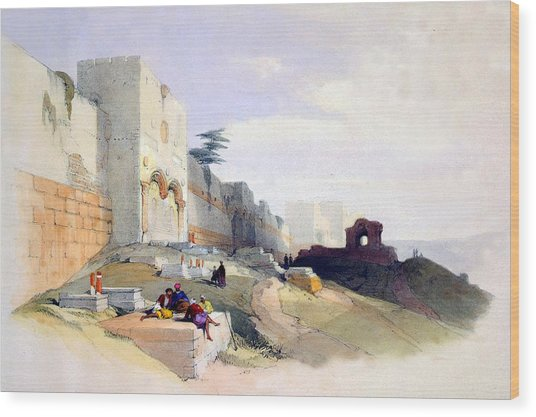 Golden Gate Of The Temple Wood Print