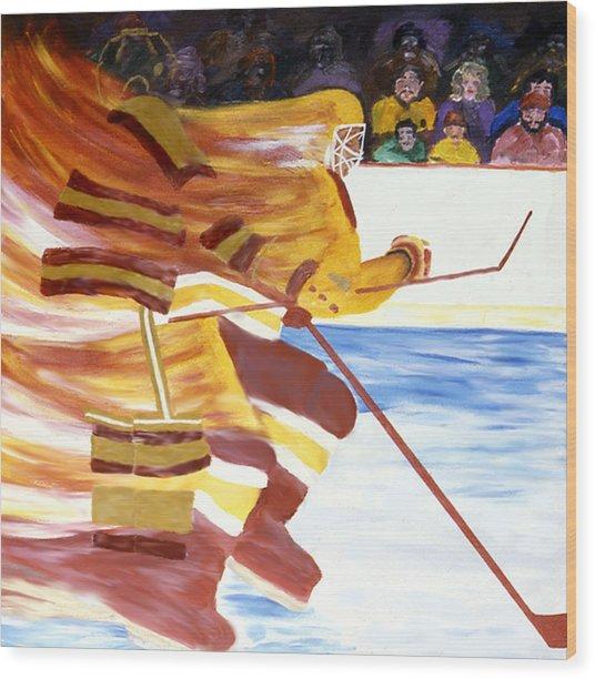 Golden Gophers Wood Print by Ken Yackel