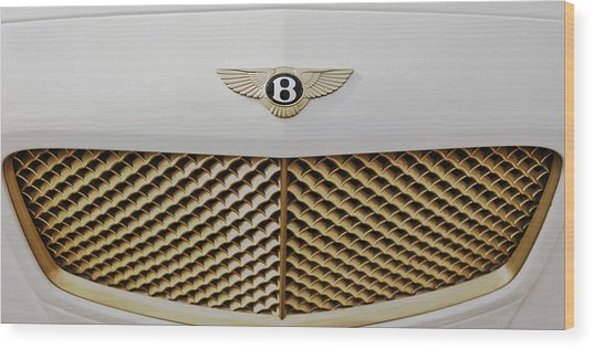Golden Grill Bentley Wood Print