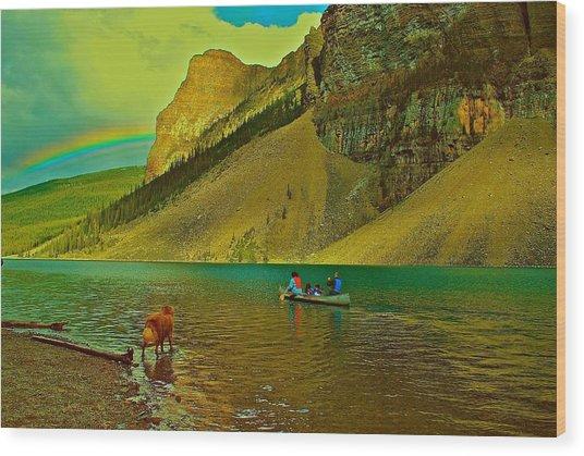 Golden Voyage Wood Print