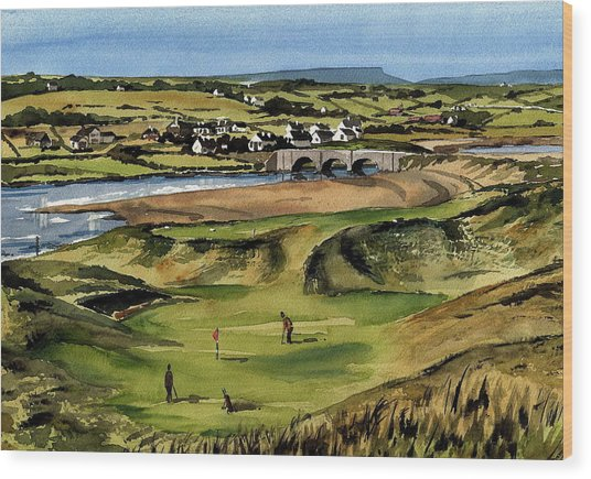 Clare  Golf At Lahinch Gc Wood Print