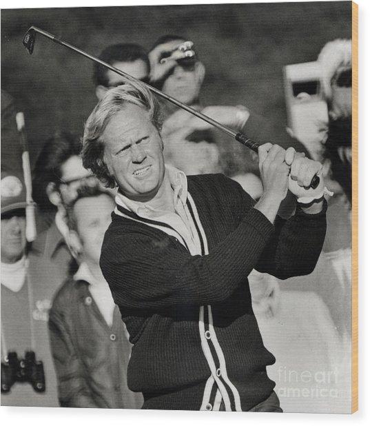 Golfer Jack William Nicklaus Born January 21 1940 Nicknamed The Golden Bear Wood Print