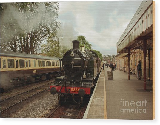 Goliath The Engine And Anna Wood Print