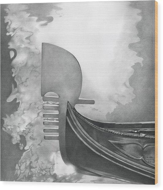 Gondola 2010 Wood Print