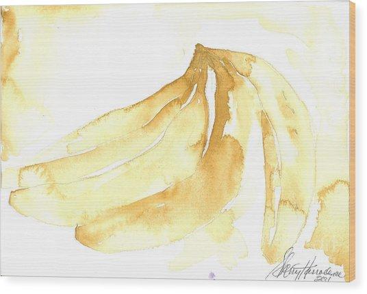 Gone Bananas 3 Wood Print