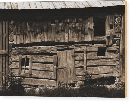 Gone But Not Forgotten Wood Print by Heather Kenward