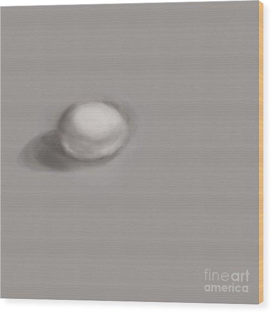 Good Egg Wood Print