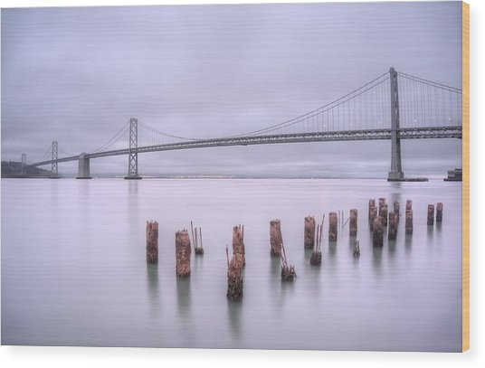 Good Morning San Francisco Wood Print