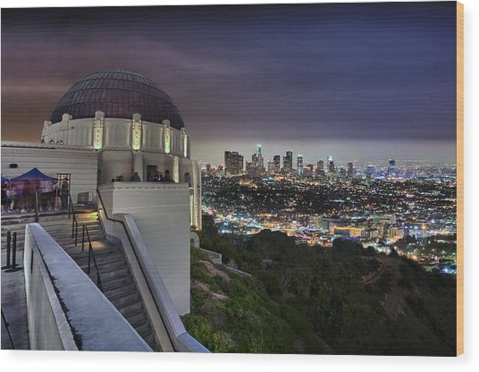 Gotham Griffith Observatory Wood Print