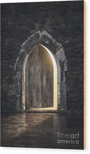 Gothic Light Wood Print