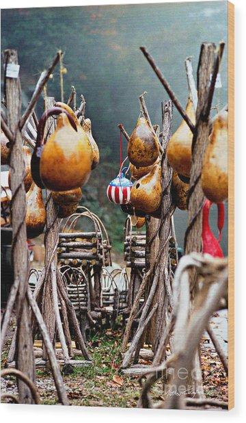 Gourds 2002 Wood Print