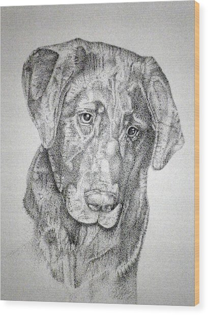 Gozar Wood Print