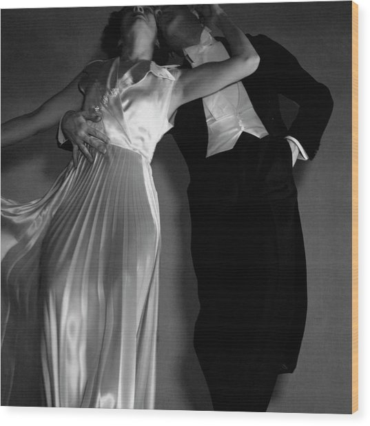 Grace And Paul Hartman Wood Print by Edward Steichen