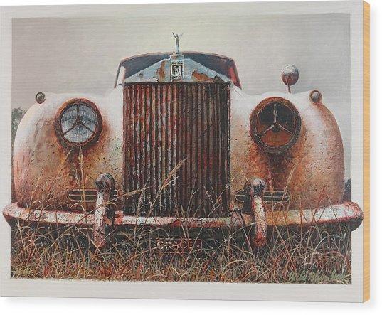 Grace - Rolls Royce Wood Print