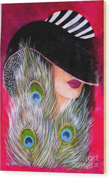 Grace Wood Print by Sonya Ragyovska