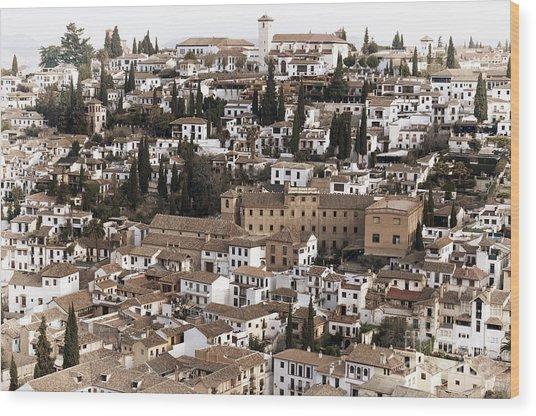 Granada Wood Print