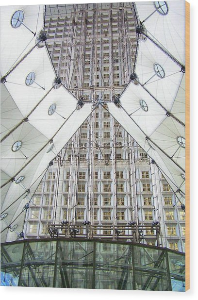 Grand Arche  Wood Print