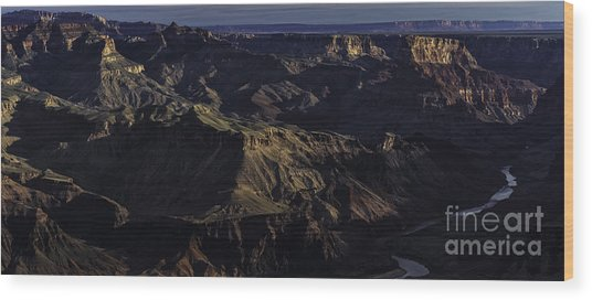 Grand Canyon 11 Wood Print by Richard Mason