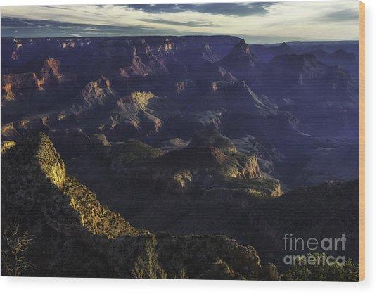 Grand Canyon 4 Wood Print by Richard Mason