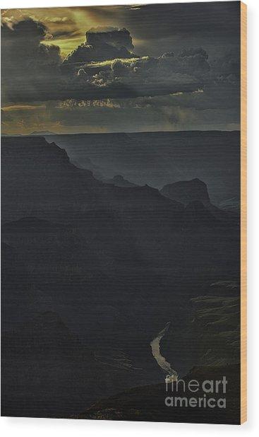 Grand Canyon 8 Wood Print by Richard Mason