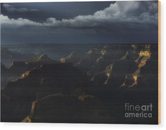 Grand Canyon 9 Wood Print by Richard Mason