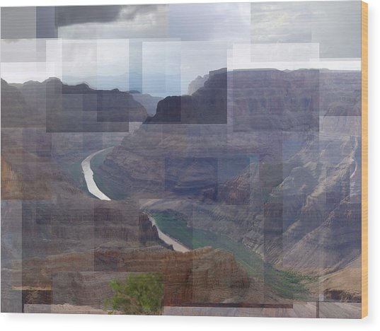 Grand Canyon Guano Point Wood Print