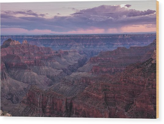 Grand Canyon North Rim Wood Print