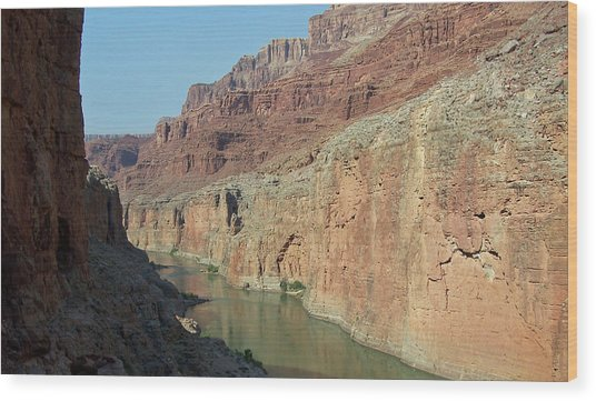 Grand Canyon Shadows Wood Print