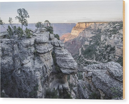Grand Canyon South Rim Wood Print
