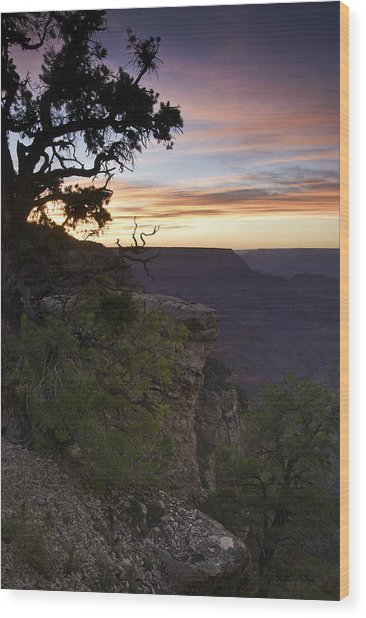 Grand Canyon Sunset 2 Wood Print