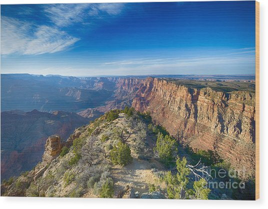 Grand Canyon - Sunset Point Wood Print