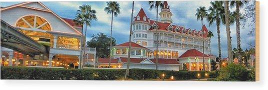 Grand Floridian Resort Walt Disney World Wood Print