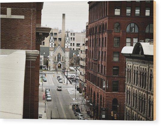 Grand Rapids 10 Wood Print