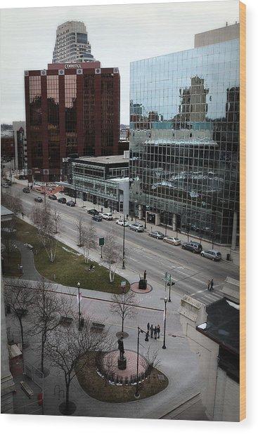 Grand Rapids 6 Wood Print