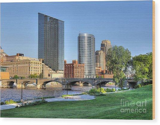 Grand Rapids Mi100 Art Prize Wood Print