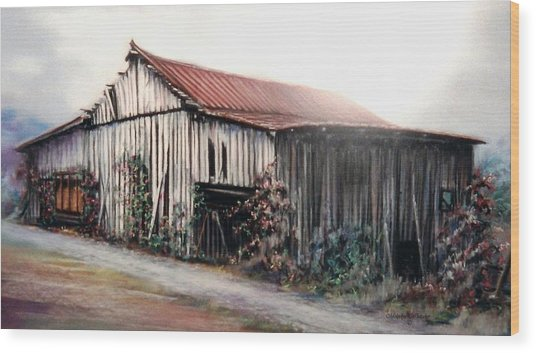 Grandaddy's Barn Wood Print