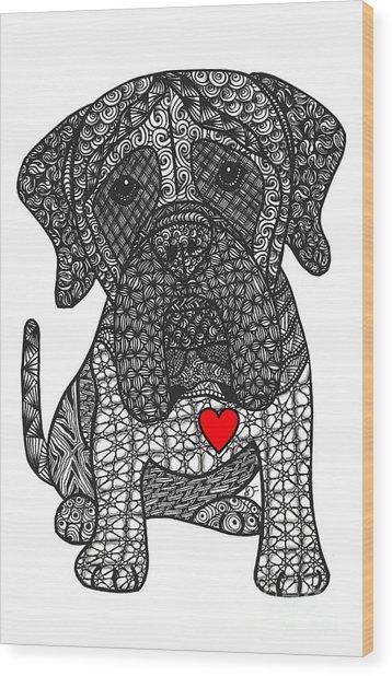 Grandeur - Mastiff Wood Print