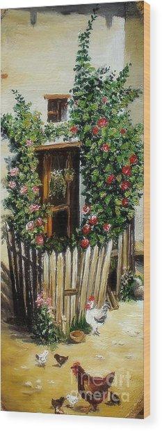 Grandmother S Home Wood Print