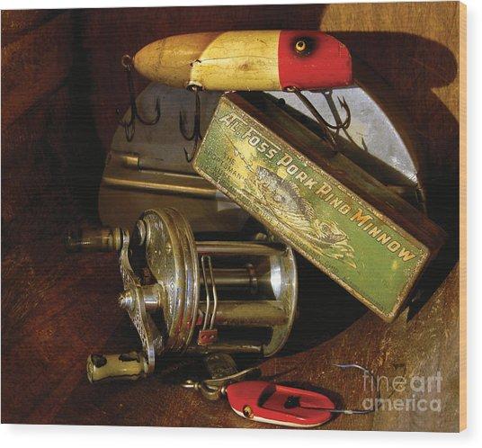 Grandpas Things Wood Print